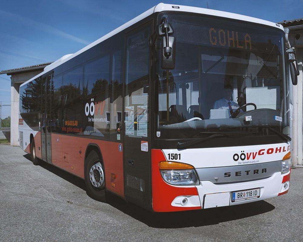 Der Linienbus von Gohla