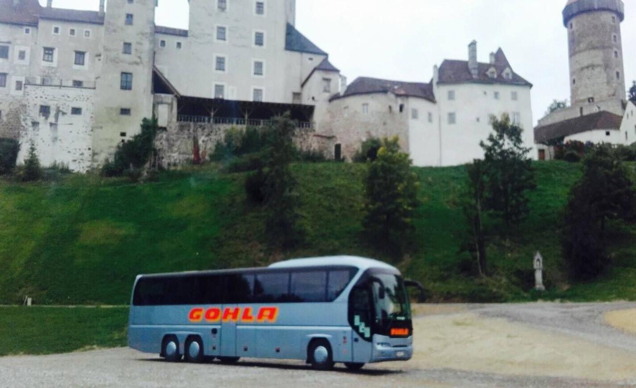Gohla Bus in Krumau